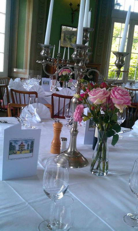 Beispiel: Festsaal, Foto: Café-Restaurant Lusthaus.