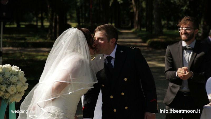 Puoi baciare la sposa!