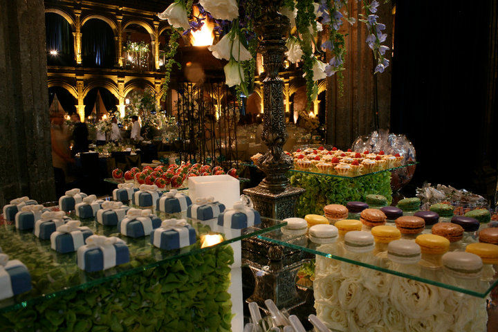 Mesa de dulces para bodas, Foto: Kanela