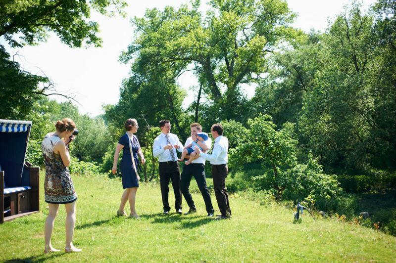 Beispiel: Das etwas andere Gruppenfoto, Foto: Katinka Stone.