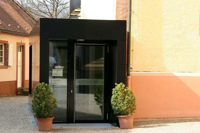 Beispiel: Eingang, Foto: Elztalmuseum Waldkirch.