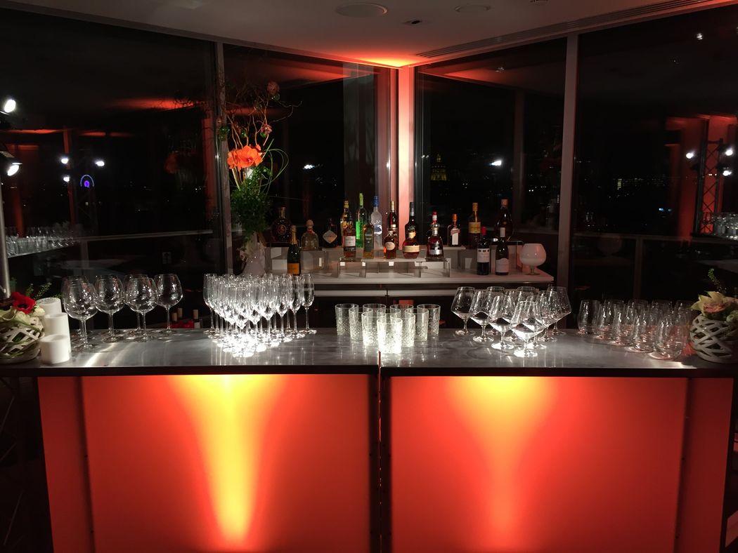 Pullman Hotel Paris Tour Eiffel - Salon Trocadéro  Bar Lumineux : plusieurs couleurs disponibles