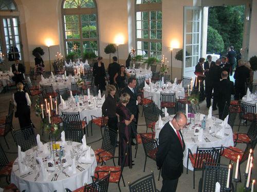 Beispiel: Orangerie, Foto: Schlosshotel Pillnitz.