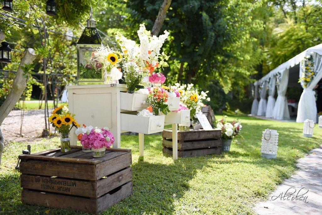 Decoraciones florales con los mejores decoradores