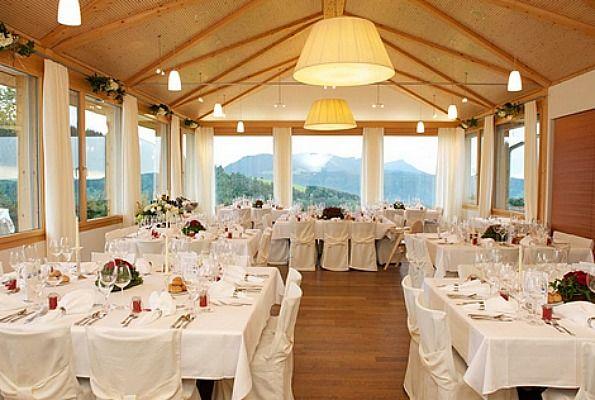 Beispiel: Festsaal, Foto: Restaurant Raten.