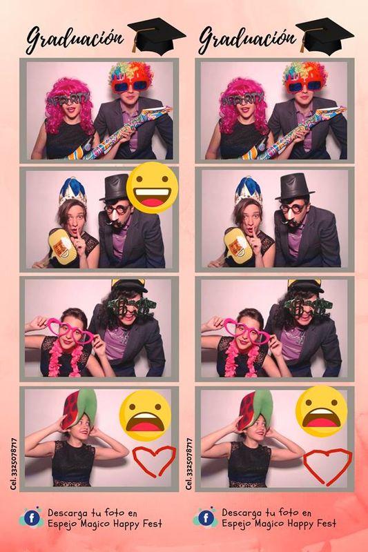 Cabina de fotos Happy Fest