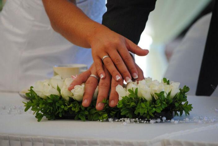 Beispiel: Brautpaar, Foto: Milanhof.