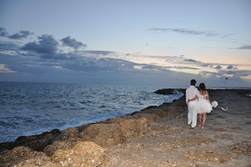 Пляжные свадьбы