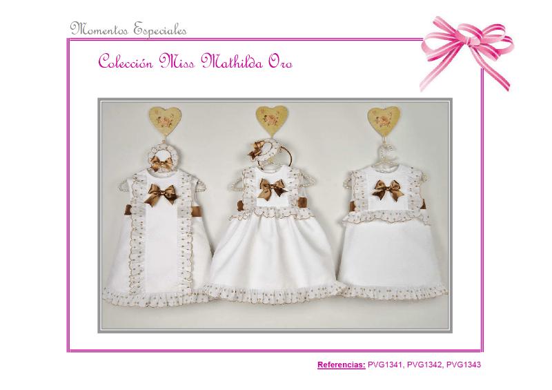 Colección Miss Matilda Oro