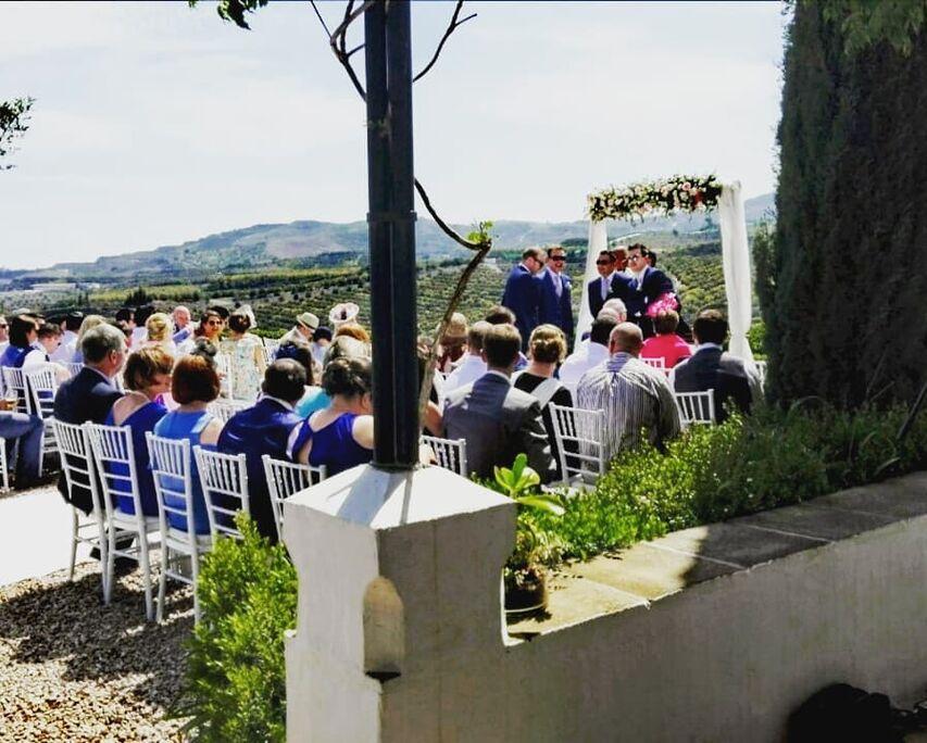 Ocean weddings spain
