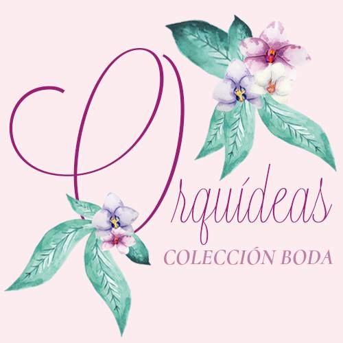 Colección de boda Orquídeas Egus in Love