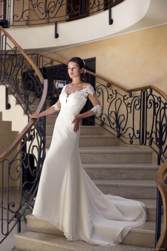 Abito da sposa modello Luna, collezione Romantica