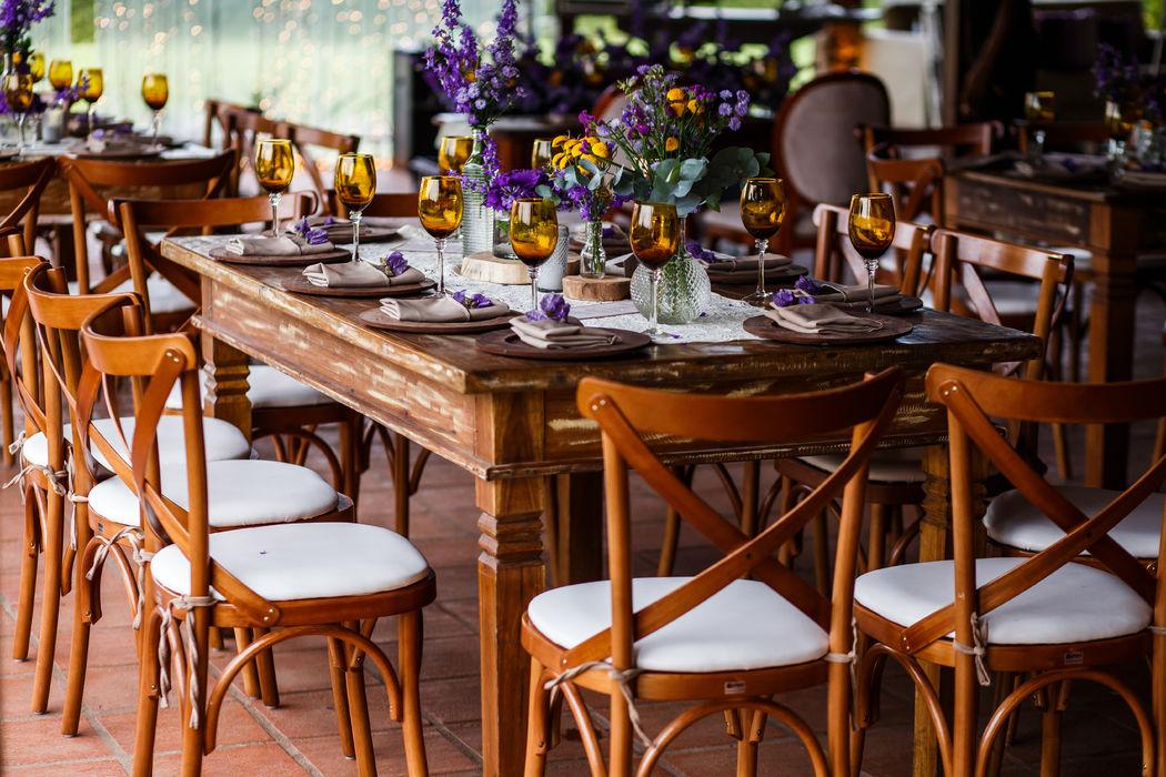 Rustico com elegante  www.samanthamaia.com.br