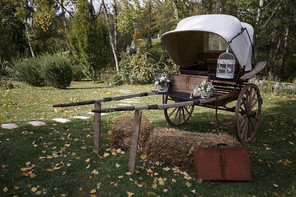 La Pampa Relais - Il nostro romantico calesse è a disposizione degli Sposi per simpatiche foto ricordo