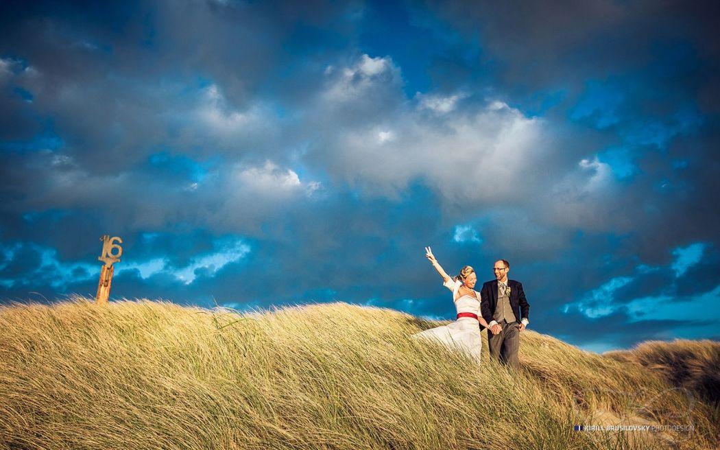 Hochzeitsportraits auf Sylt