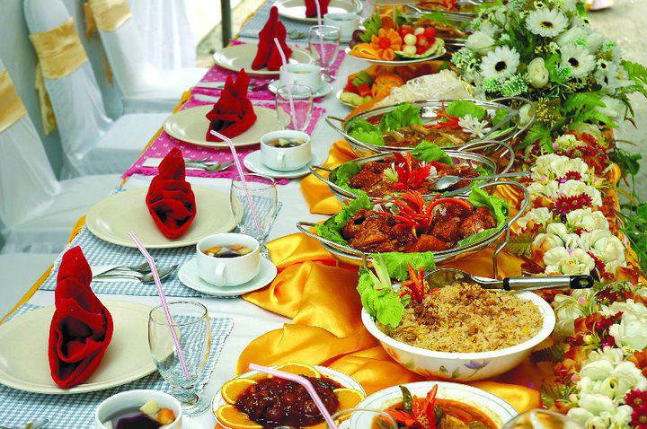 Beispiel: Hochzeitsessen, Foto: CCB Catering Company Brok.