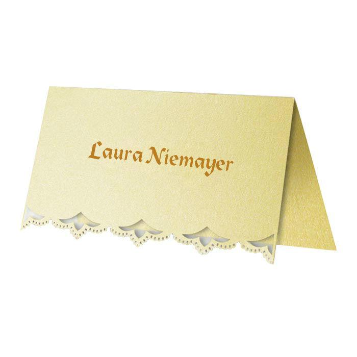 Beispiel: Namenskarten, Foto: Kartenzia.