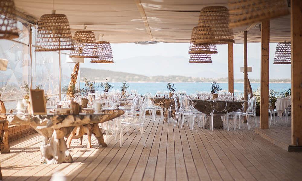 Linea Events pour un mariage en Corse