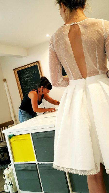 création sur mesure pour un mariage Civil
