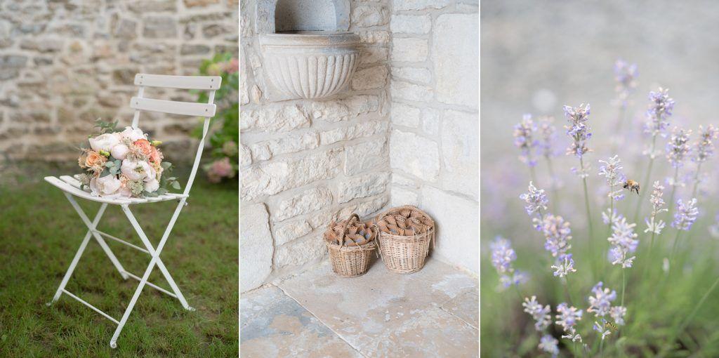Katleen Photographies - Lavande - Fleurs - Jardin Mariage