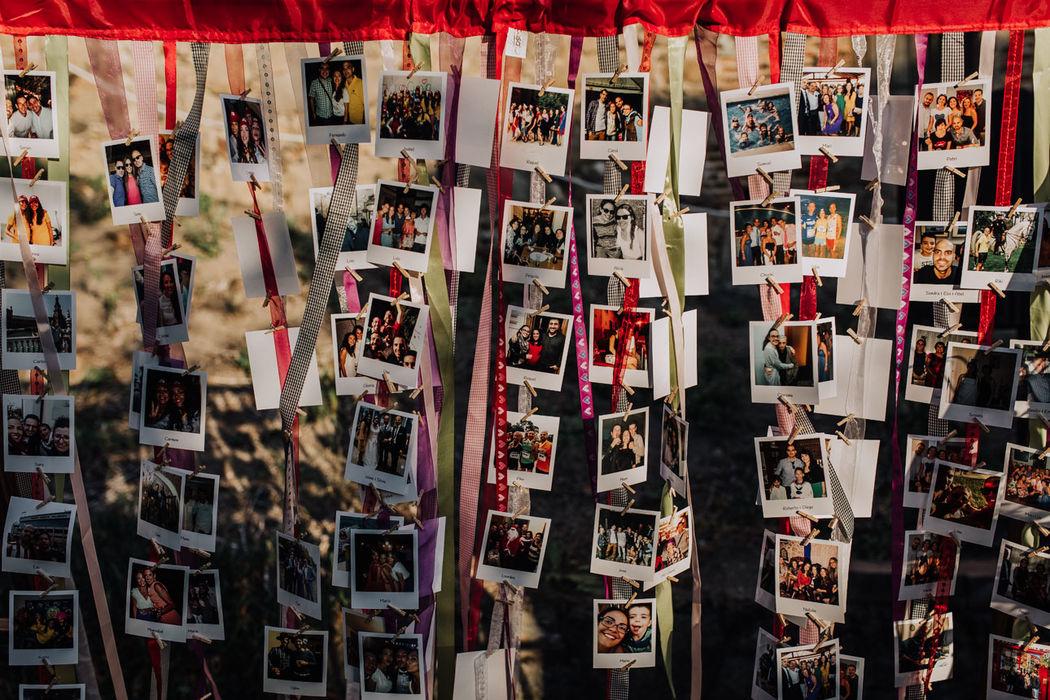 Decoración coctel Photo display