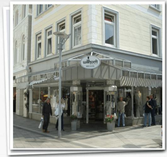 Beispiel: Ladengeschäft, Foto: Herrenausstatter Willhoeft.