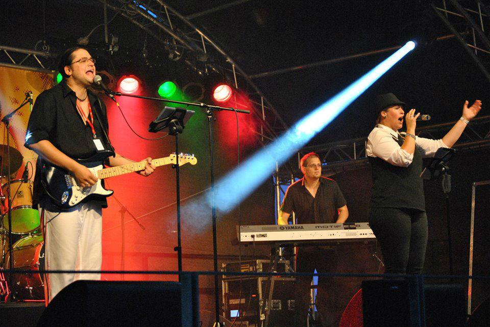 Beispiel: Live Band., Foto: Sven B.