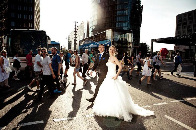 Beispiel: Brautpaar, Foto: Berlin Weddings Hochzeitsfotografie.
