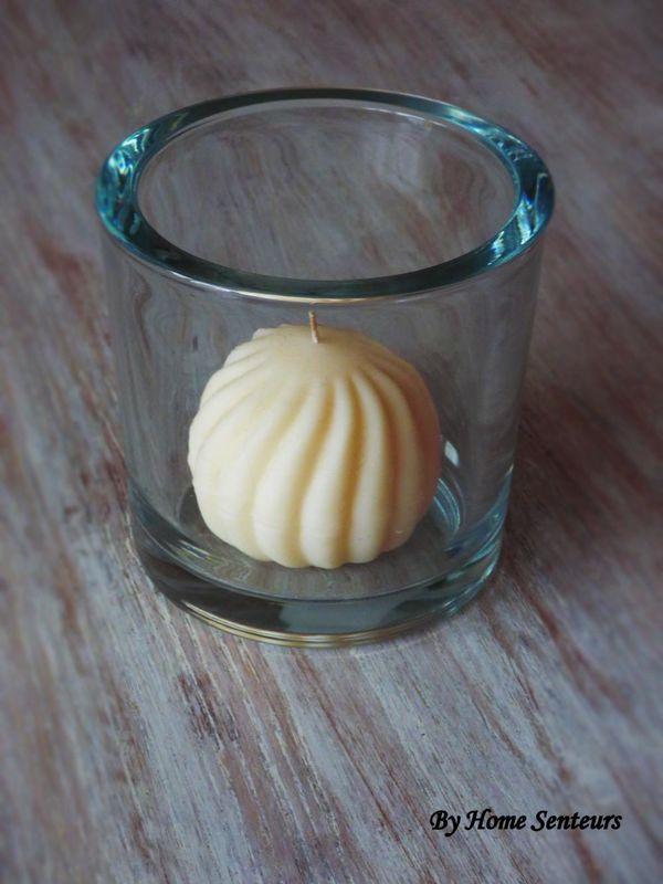Cylindre et bougie sphère déco table de Mariage