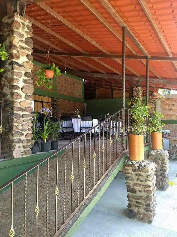 Terraza Jardín Fersy Eden Querétaro