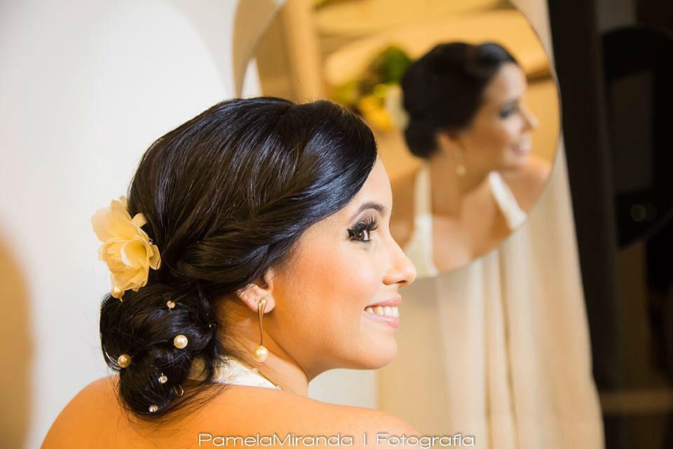Noiva Fabiana Falcão - Alto da Boa Vista