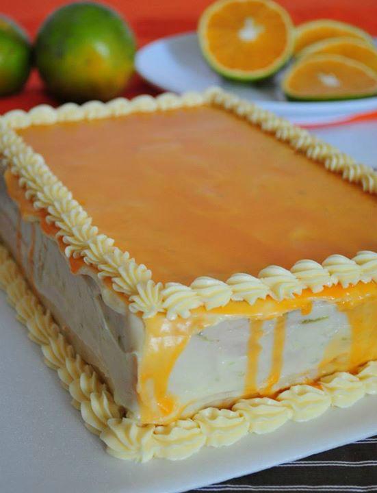 Pudín de Naranja