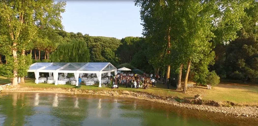 wedding house tent