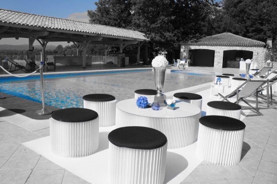 chateau de Roquefeuille - piscine