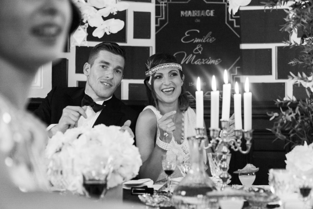 Mariage ambiance Gatsby Mam'zelle Event