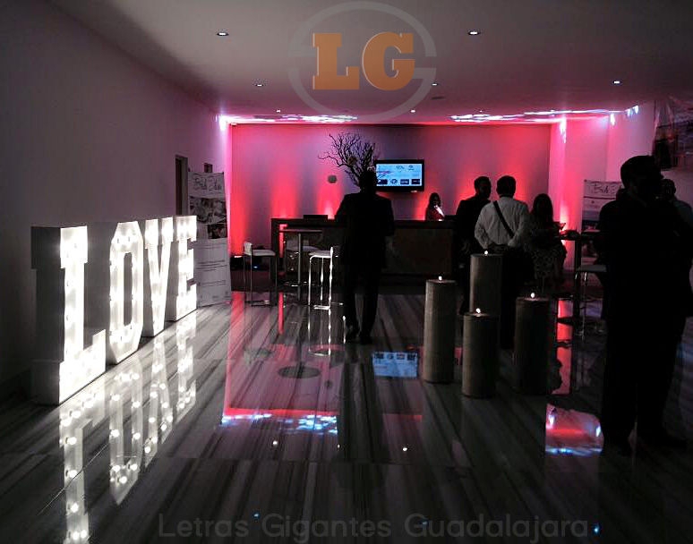 Letras Gigantes - Guadalajara