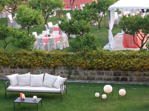 Il giardino della Tenuta Lucagiovanni