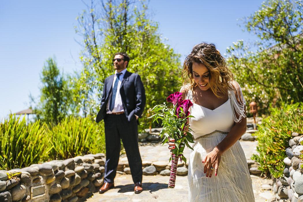 Catalina Navarro y Gonzalo Ugarte en La Arbequina Foto: Inspira Fotografía Documental