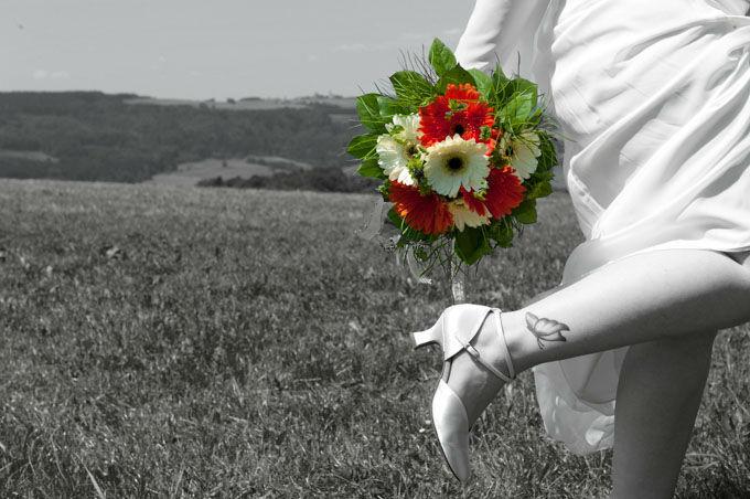 Beispiel: Kreative Brautportraits, Foto: Hochzeitsfotografie Neuhofer.