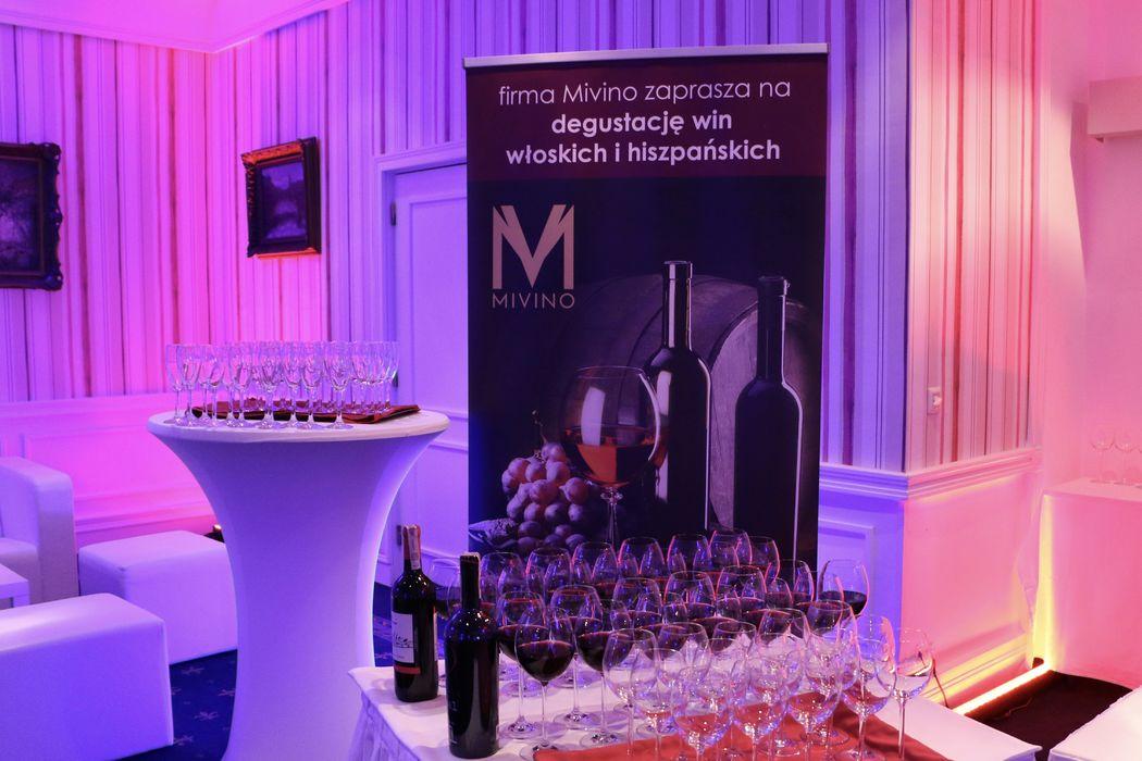 Selekcja win włoskich i hiszpańskich.