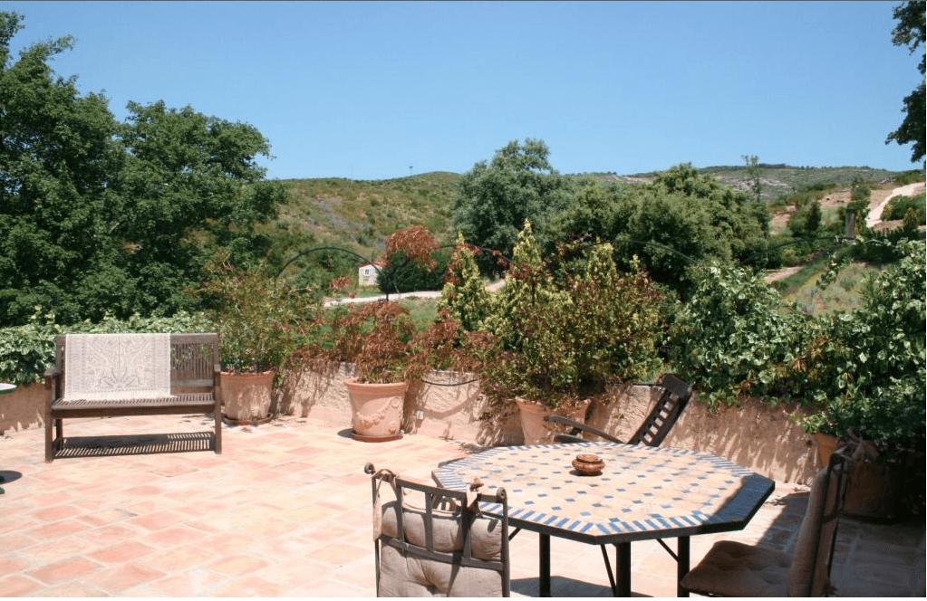 Terrasse - Le Domaine de Cethi