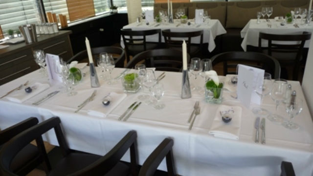 Beispiel: Tafel - Tischdekoration, Foto: Emma am See.