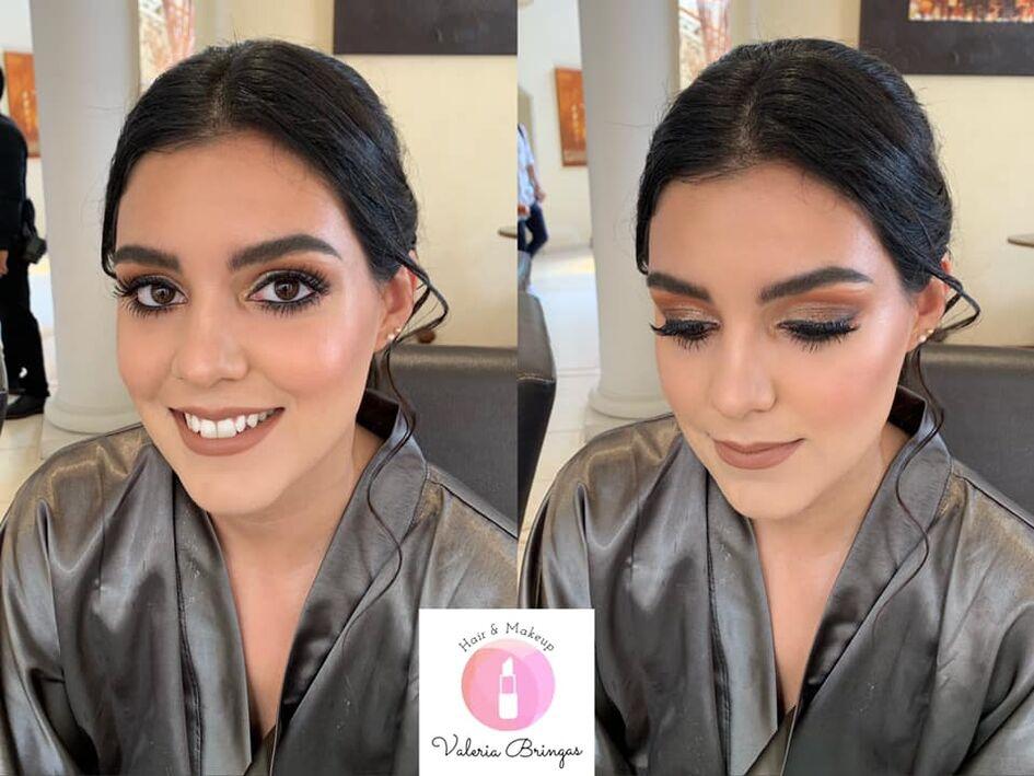 Valeria Bringas Maquillista