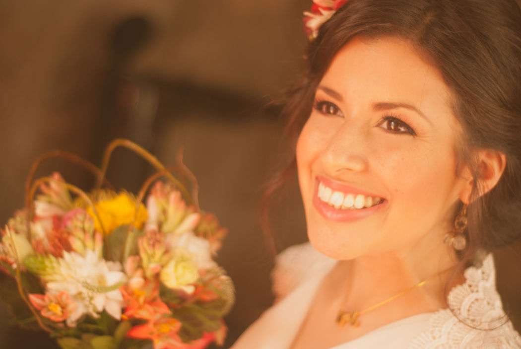 Maquillaje para novia Monica