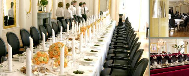 Beispiel: Tischdekoration, Foto: Speisemeisterei.