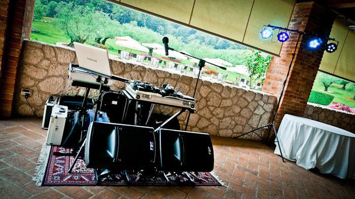 Villa Il Rovere (postazione musicale)