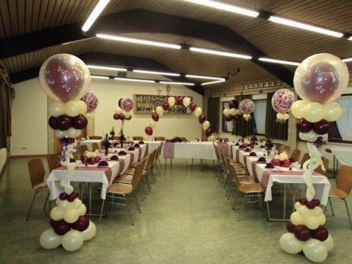 Beispiel: Ballon-Dekoration, Foto: BallonMOBIL.