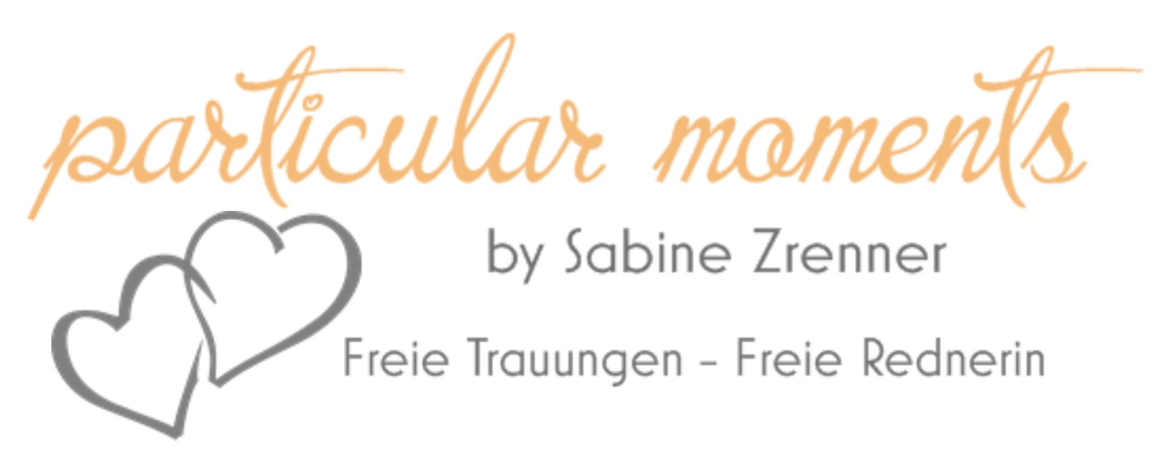 particular moments by Sabine Zrenner