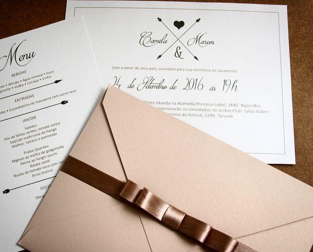 Convite e Menu