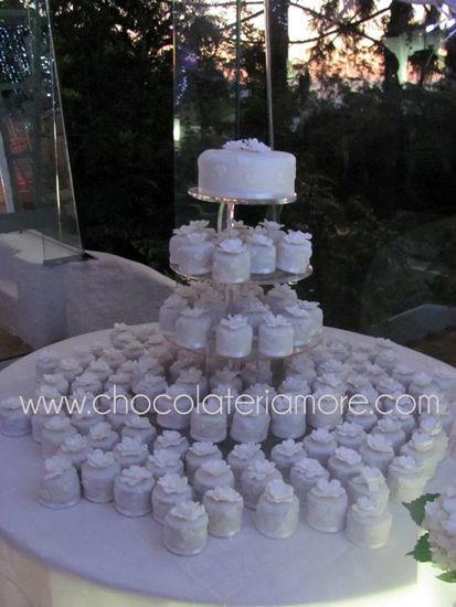 torre de bizcochitos de novia